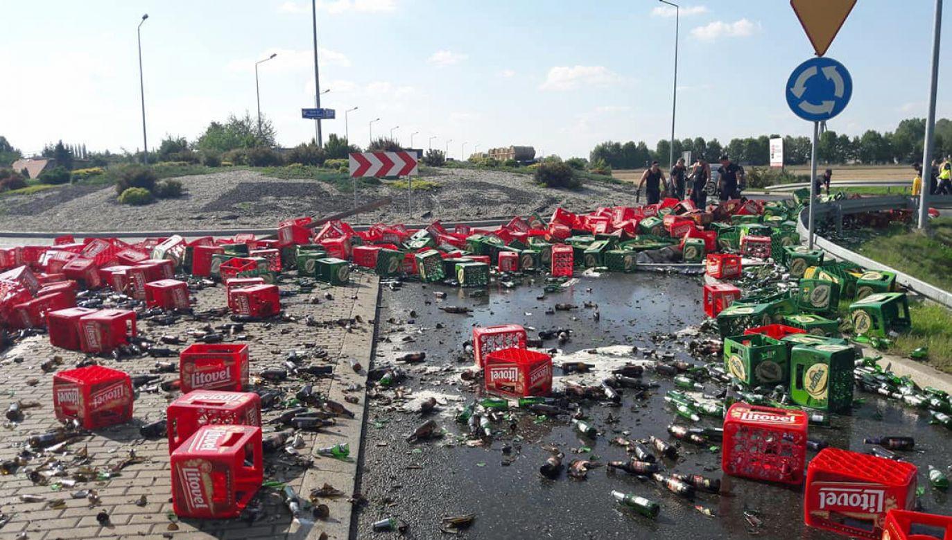 Do zdarzenia doszło na Opolszczyźnie (fot. Policja)