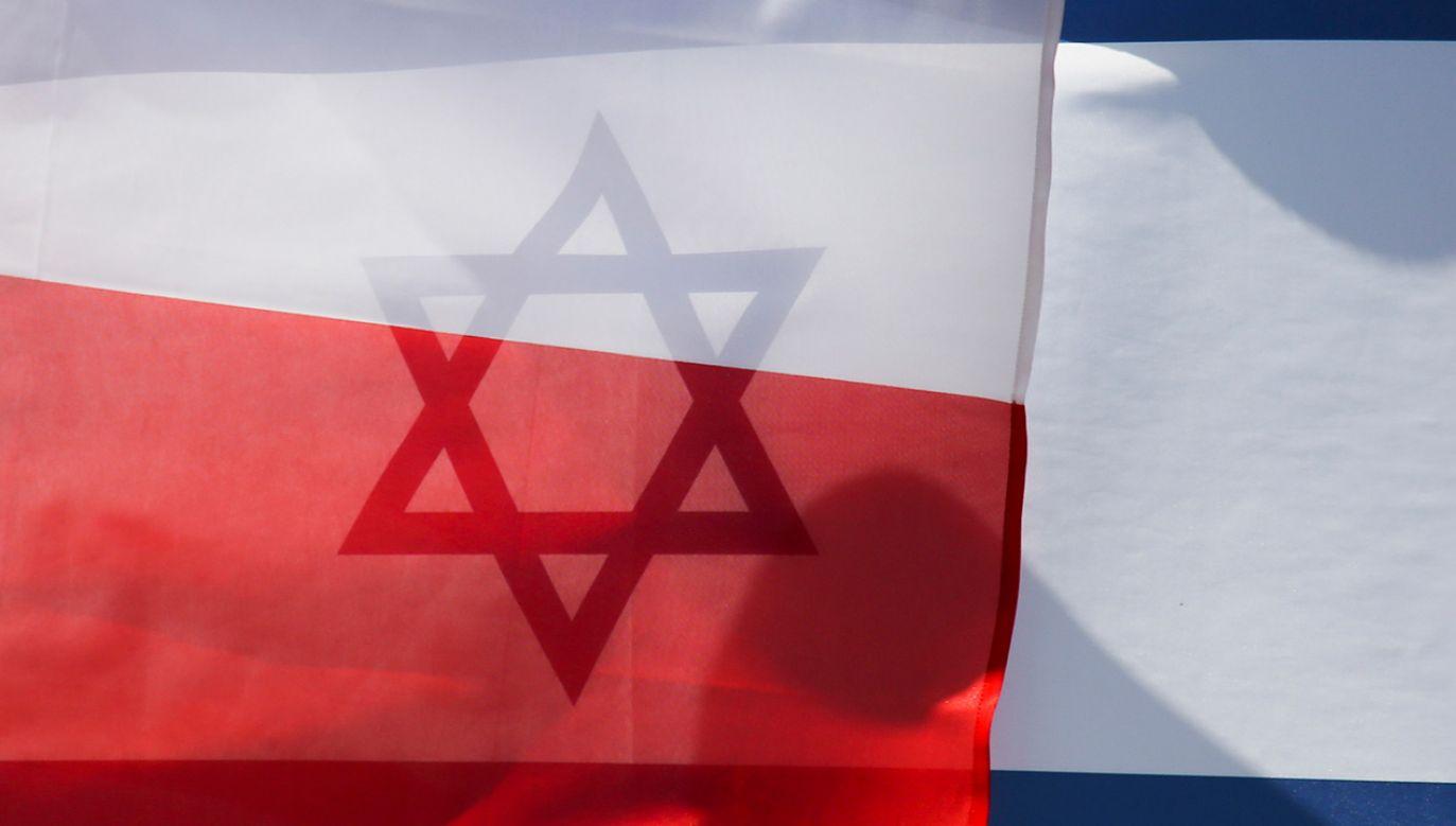 Sekretarz stanu w KPRM Łukasz Schreiber odniósł się do opinii środowisk żydowskich krytykujących wypowiedź Israela Katza (fot. Beata Zawrzel/NurPhoto/Getty Images)