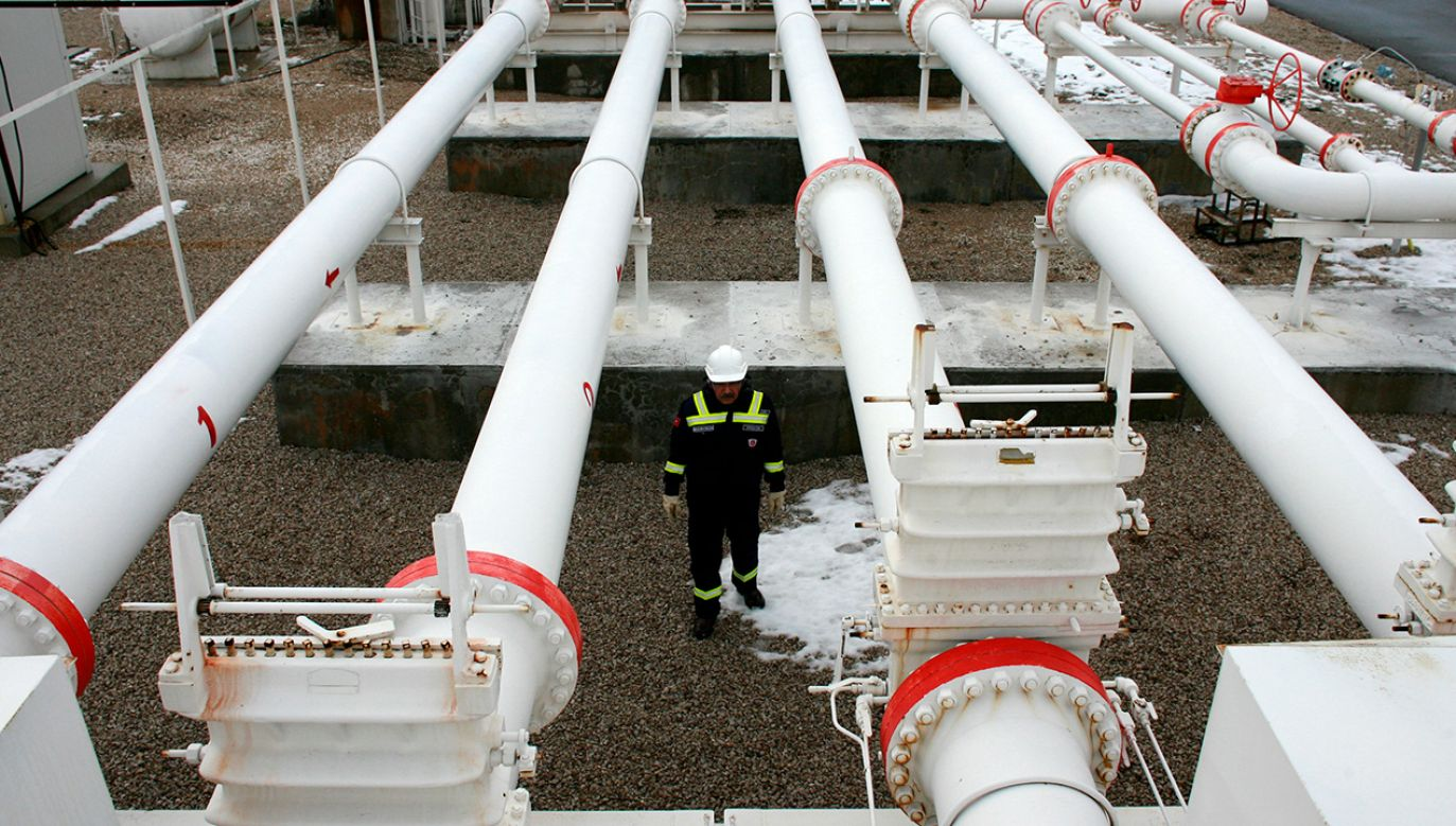 Projekt Tureckiego Potoku zakłada ułożenie na dnie Morza Czarnego dwóch nitek gazociągu (fot. REUTERS/Umit Bektas)