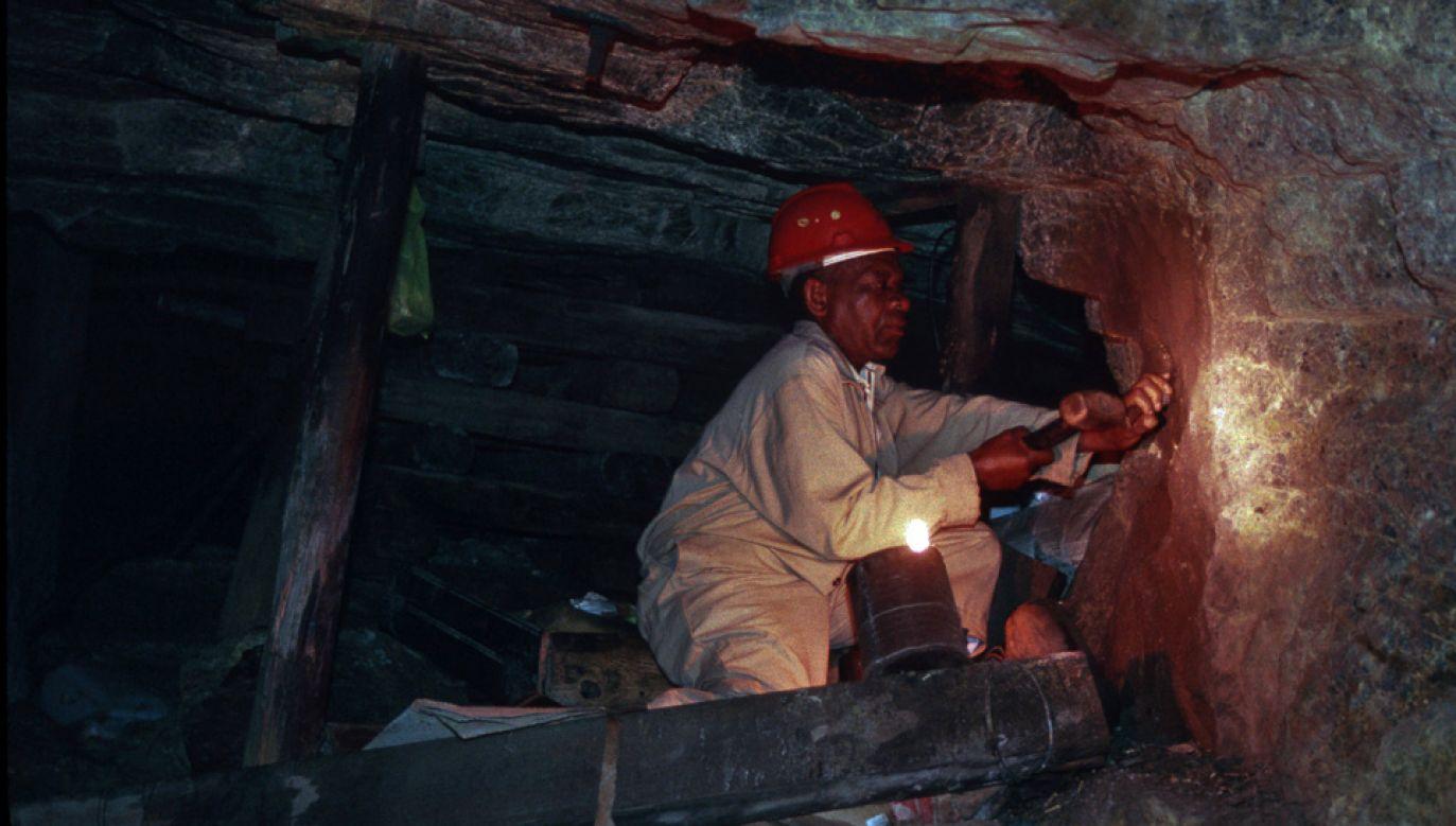 Południowoafrykańskie kopalnie należą do najniebezpieczniejszych na świecie (fot. arch.PAP/DPA/Kiedrowski, R.)