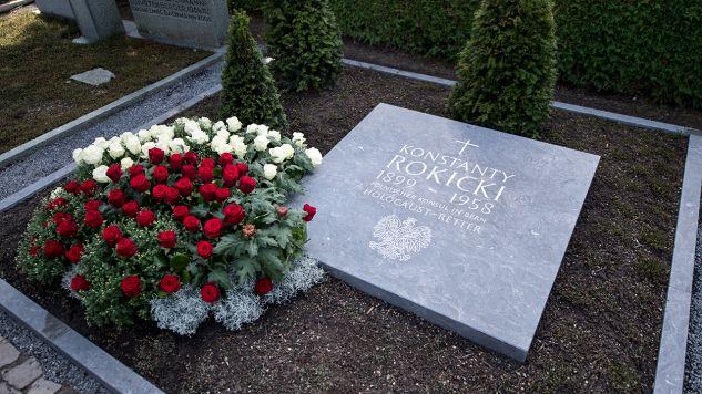 Konstanty Rokicki zmarł w 1958 r. (fot. arch. PAP/URS FLUEELER)