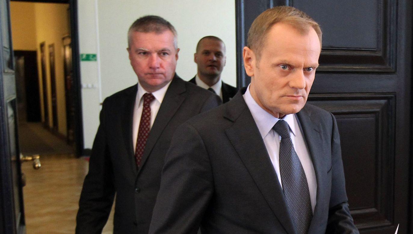 Paweł Graś był m.in. rzecznikiem rządu Donalda Tuska (fot. PAP/Radek Pietruszka)