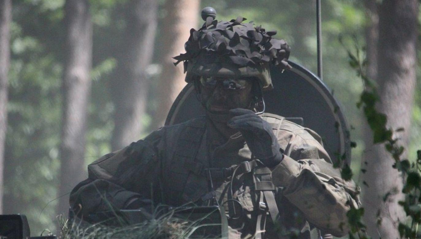 W ćwiczeniach Saber Strike uczestniczyli również polscy żołnierze (fot. Twitter/Dowództwo Generalne)