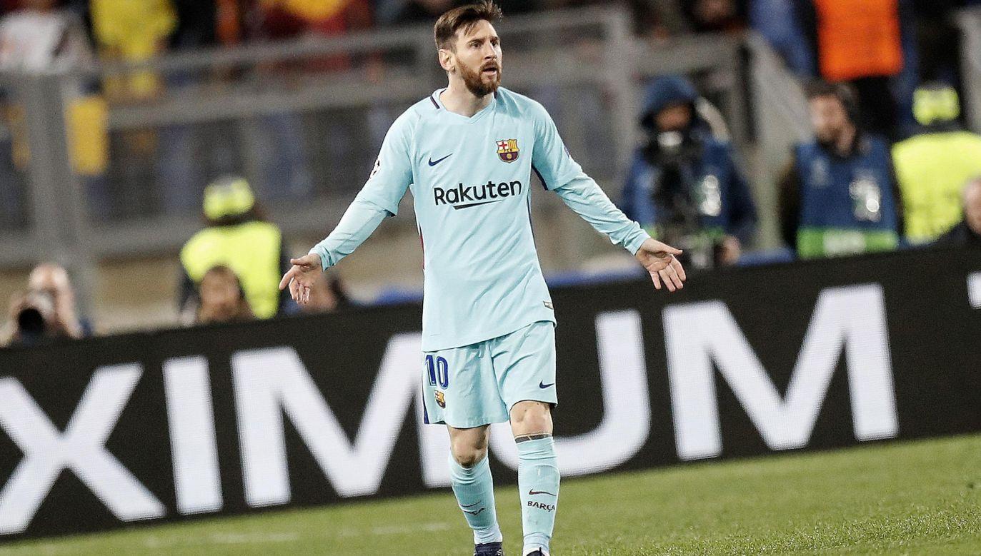 Lionel Messi (fot. PAP/EPA/RICCARDO ANTIMIANI)
