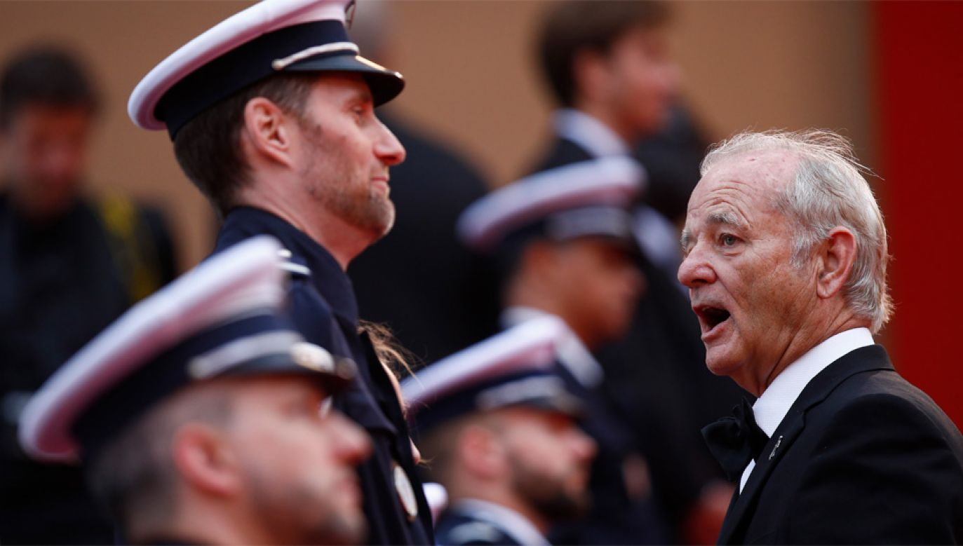 "W filmie ""The Dead Don't Die"" wystąpił m.in. Bill Murray (fot. PAP/EPA/IAN LANGSDON)"