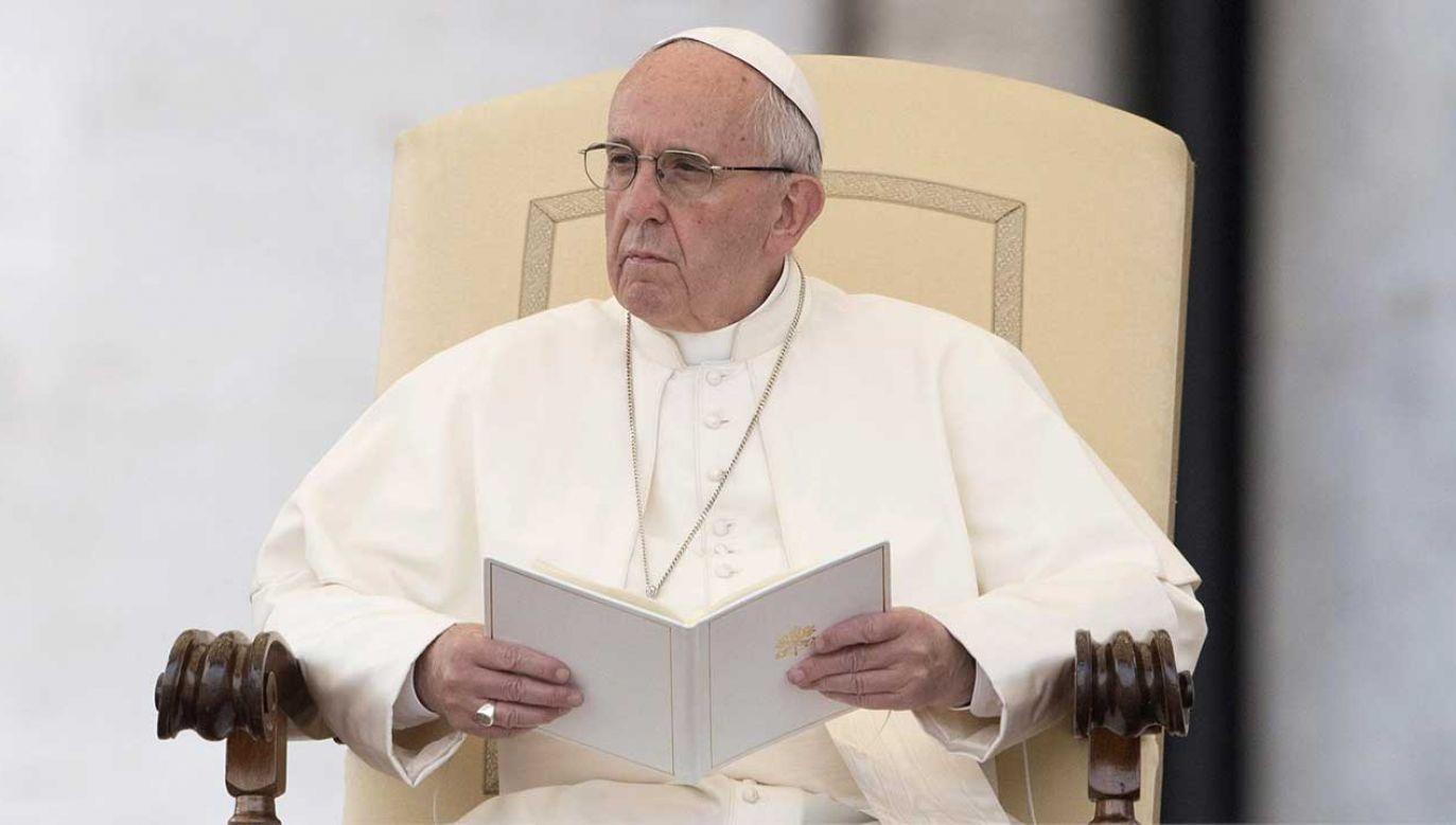 Papież Franciszek (fot. arch. PAP/GIORGIO ONORATI)