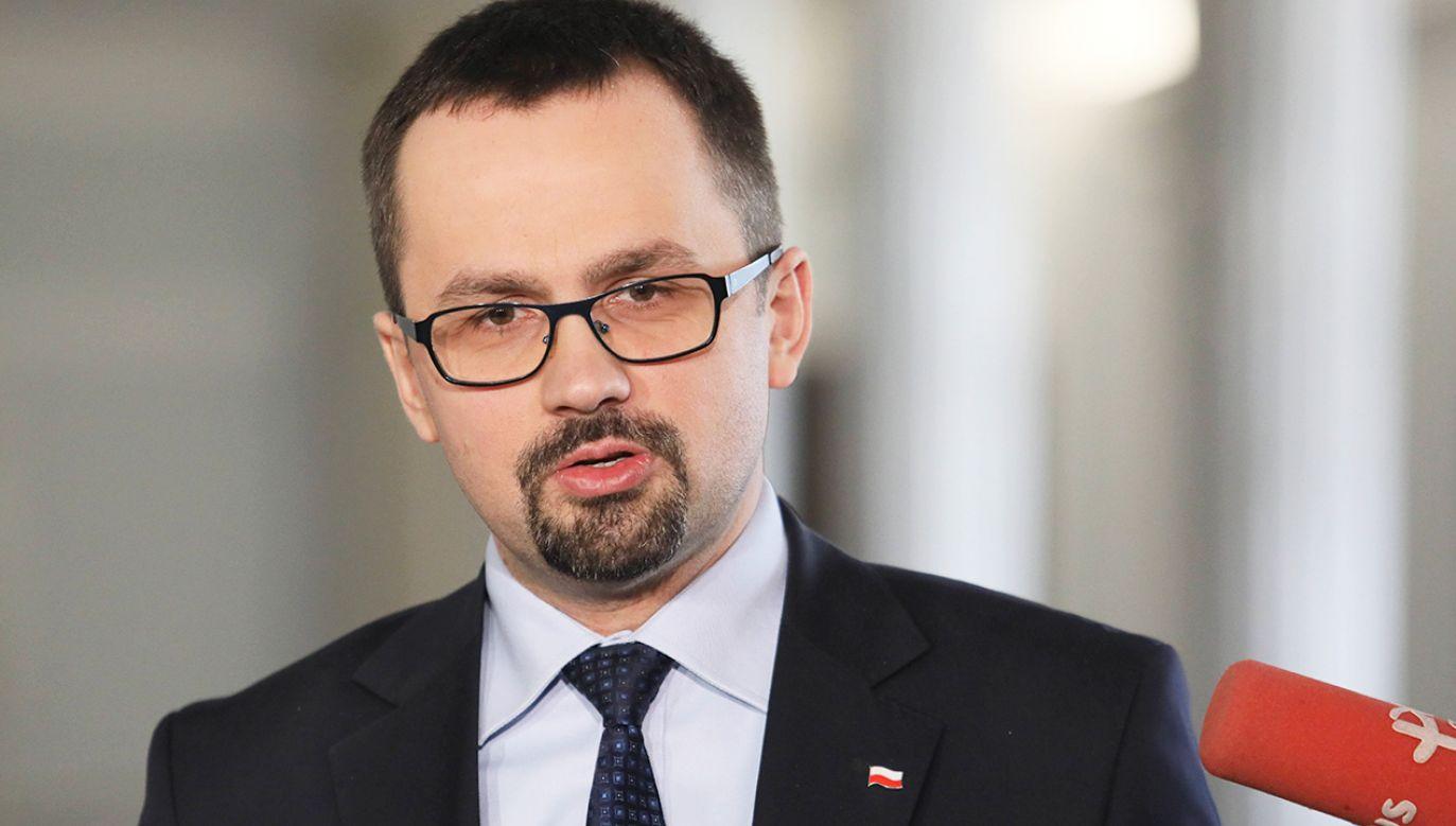 Poseł PiS Marcin Horała (fot. arch.PAP/ Leszek Szymański)