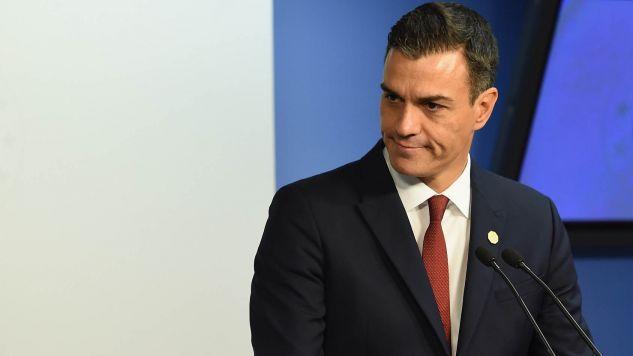 W związku z planami reformy, premier Sanchez (na zdjęciu) konsultował się z premierem Morawieckim ws. uszczelnienia systemu podatkowego (fot. Pier Marco Tacca/Getty Images)