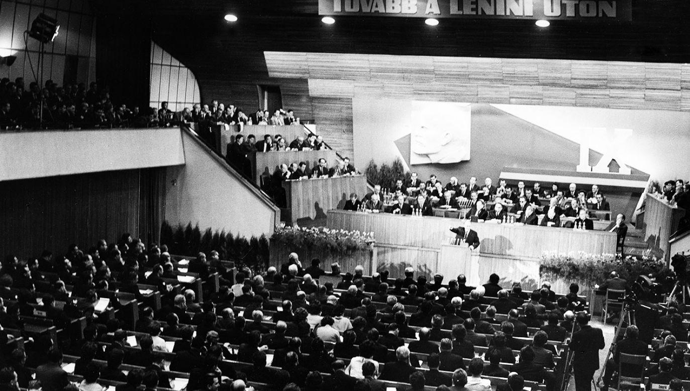 Jonas Kadar,  sekretarz generalny KC Węgierskiej Socjalistycznej Partii Robotniczej w latach 1956–1988  (fot. Eupra/ullstein bild via Getty Images)