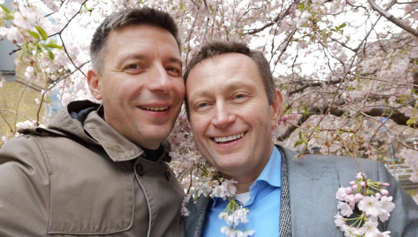 Paweł Rabiej zamieścił zdjęcie ze swym partnerem (fot. FB/Paweł Rabiej)