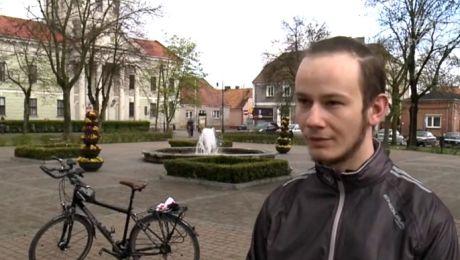 Rusza rowerem na podbój Islandii, by uzbierać na wakacje dla niepełnosprawnych dzieci