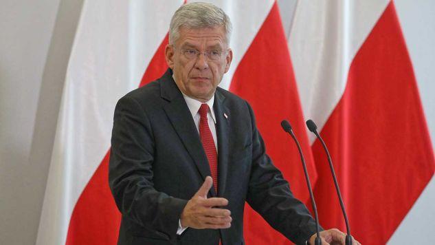 Marszałek Senatu Stanisław Karczewski (fot. arch. PAP/Tomasz Gzell)