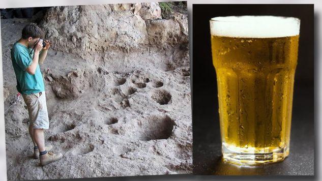 Natufijskie piwo nie przypominało tego znanego nam dziś (fot. TT/Israele in Italia)