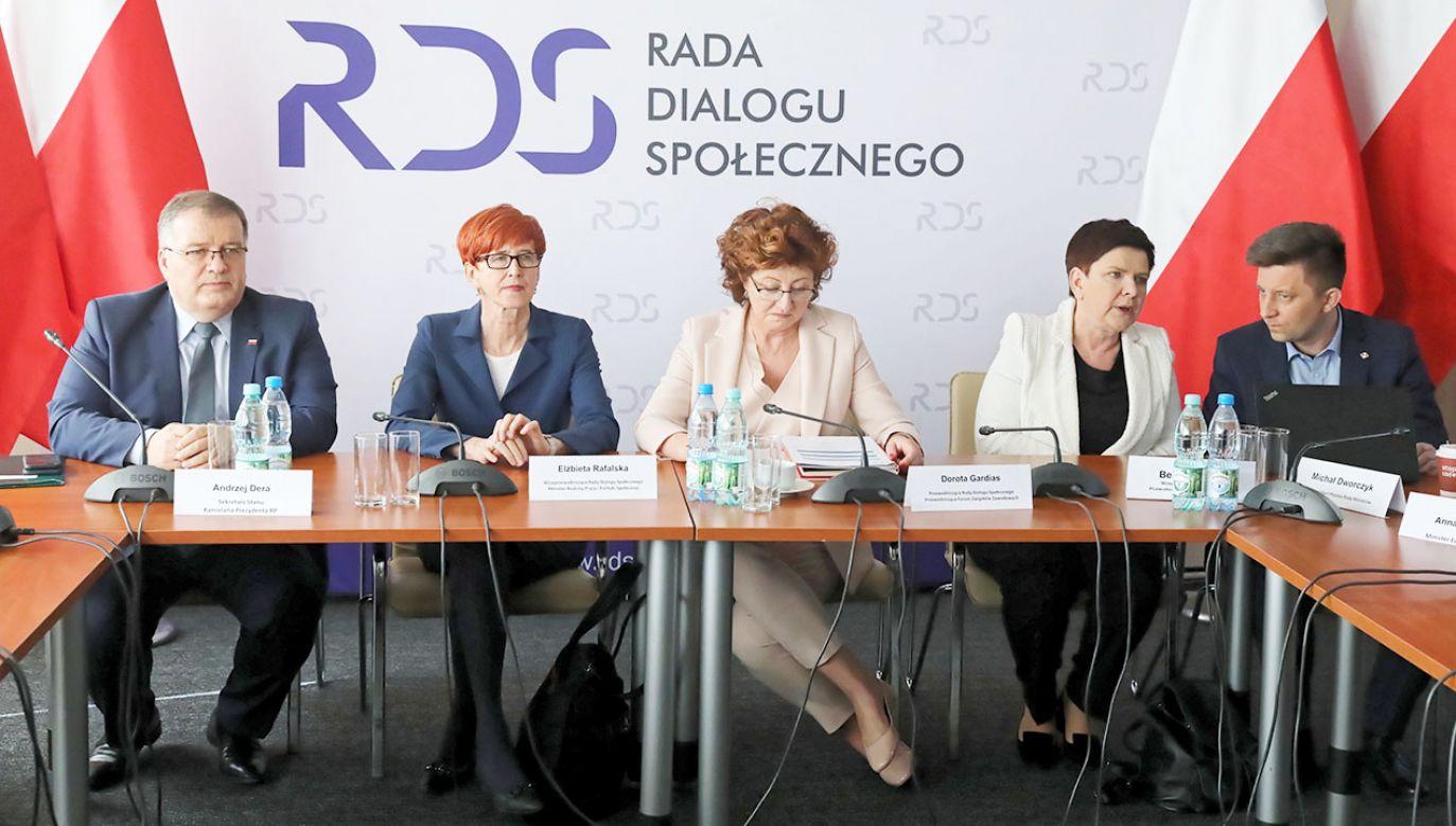 """Centrum Partnerstwa Społecznego """"Dialog"""" w Warszawie (fot. PAP/Tomasz Gzell)"""
