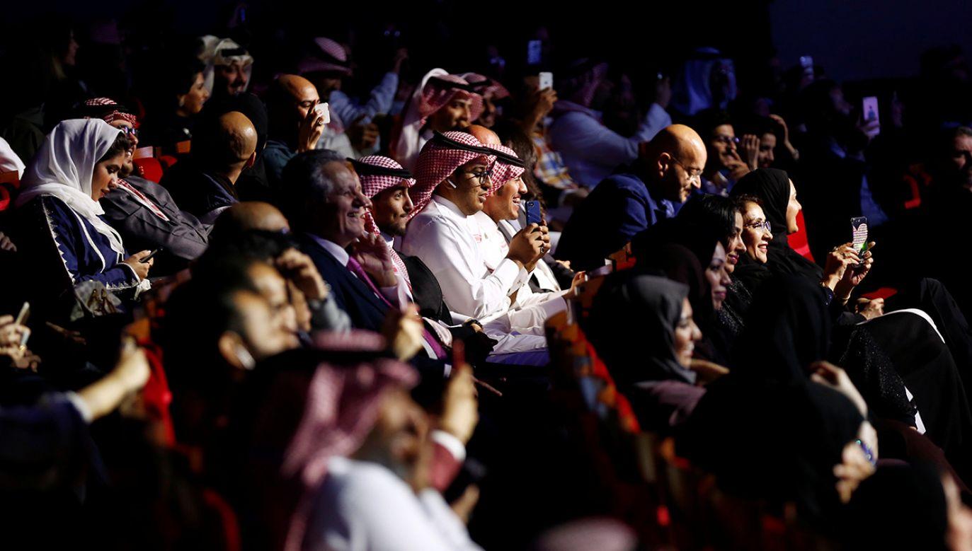 Pierwsze kina mogą zostać otwarte już w marcu 2018 roku (fot. REUTERS/Faisal Al Nasser)