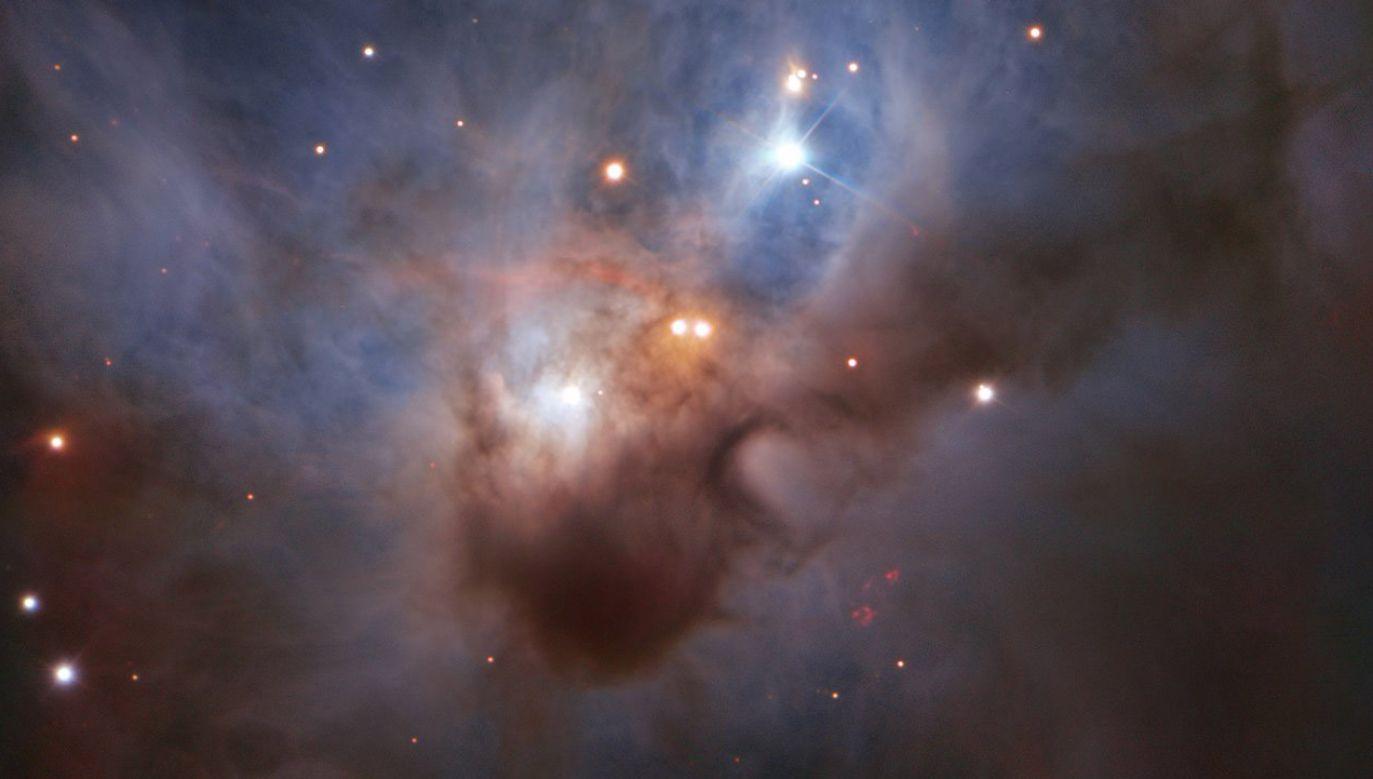 Obraz uzyskany z pomocą teleskopu VLT jest najdokładniejszym wizerunkiem mgławicy NGC 1788 (fot. ESO)