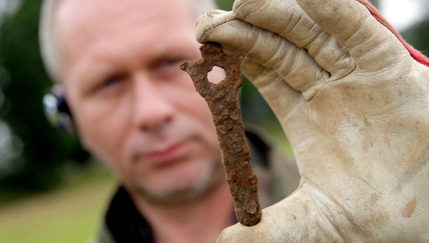 W ubiegłym roku znaleziono wiele cennych przedmiotów (fot. arch.PAP/Tomasz Waszczuk)