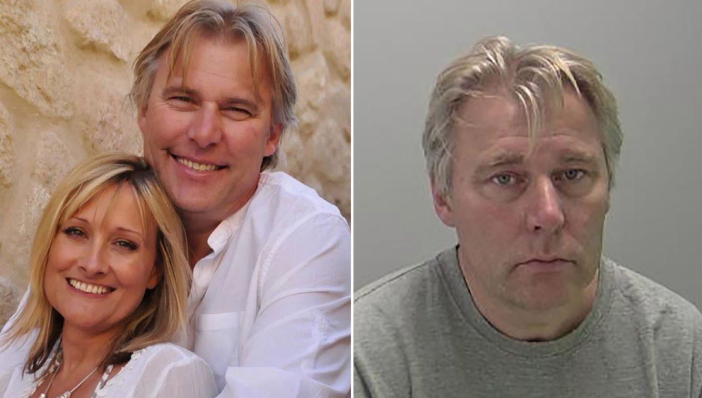 Andrew McIntosh zabił żonę podczas kłótni (fot. FB/Warwickshire Police Department)