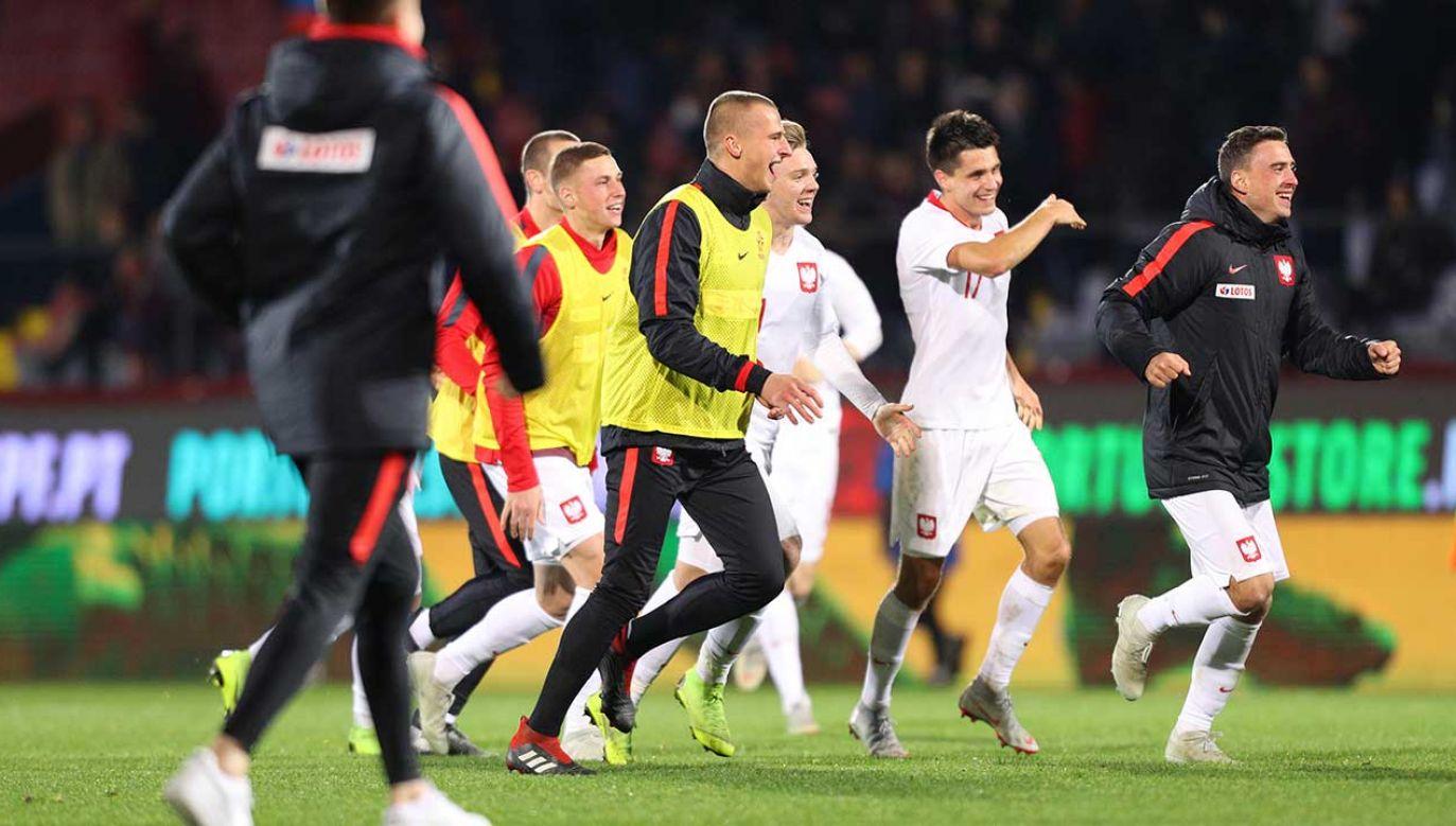 We wtorek reprezentacja Polski pokonała Portugalię 3:1 i awansowała na młodzieżowe mistrzostwa Europy (fot. arch. PAP/EPA/PEDRO SARMENTO COSTA)