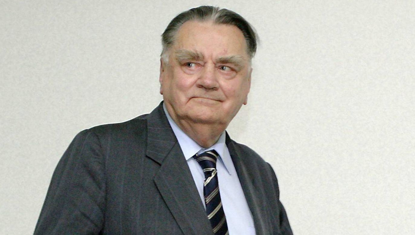 Były premier Jan Olszewski (fot. arch. PAP/Paweł Kula)