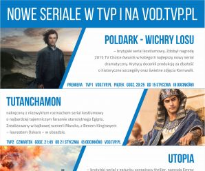 Hitowe seriale w TVP i na vod.tvp.pl!
