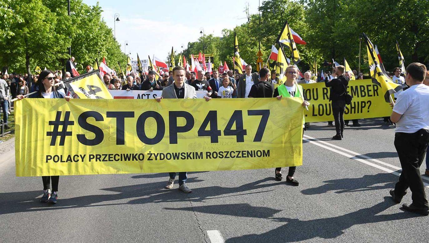 Jak widać nie dla wszystkich sprawa restytucji jest sprawą zamkniętą – stwierdza minister Szymon Szynkowski vel Sęk  (fot. arch. PAP/Radek Pietruszka)