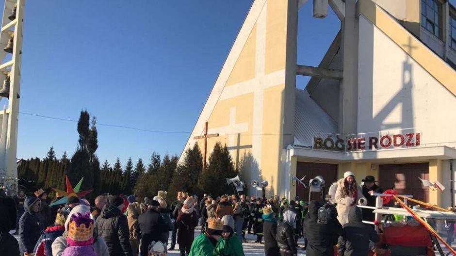 Orszak Trzech Króli w Bełchatowie, fot. TVP3