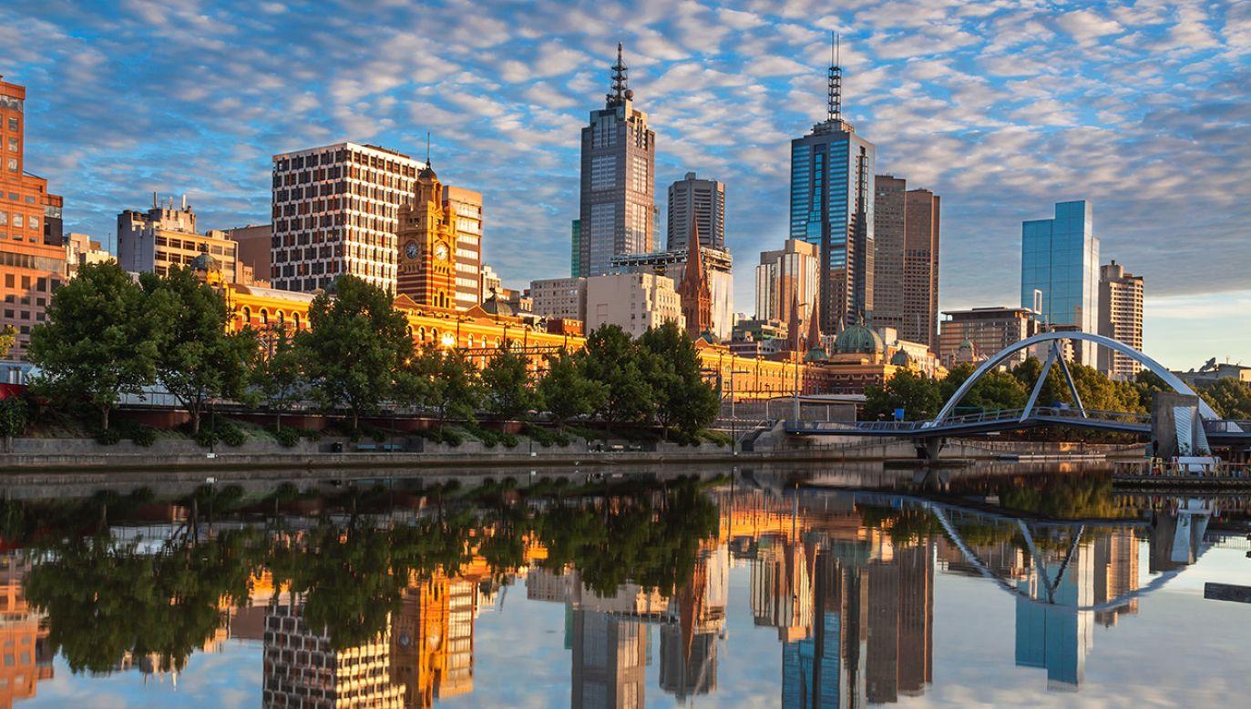 W czasie czterodniowej wizyty w Australii Andrzej Duda i Agata Kornhauser-Duda odwiedzą m.in. Melbourne (na zdj.), Canberrę oraz Sydney. (fot. Shutterstock/Gordon Bell)
