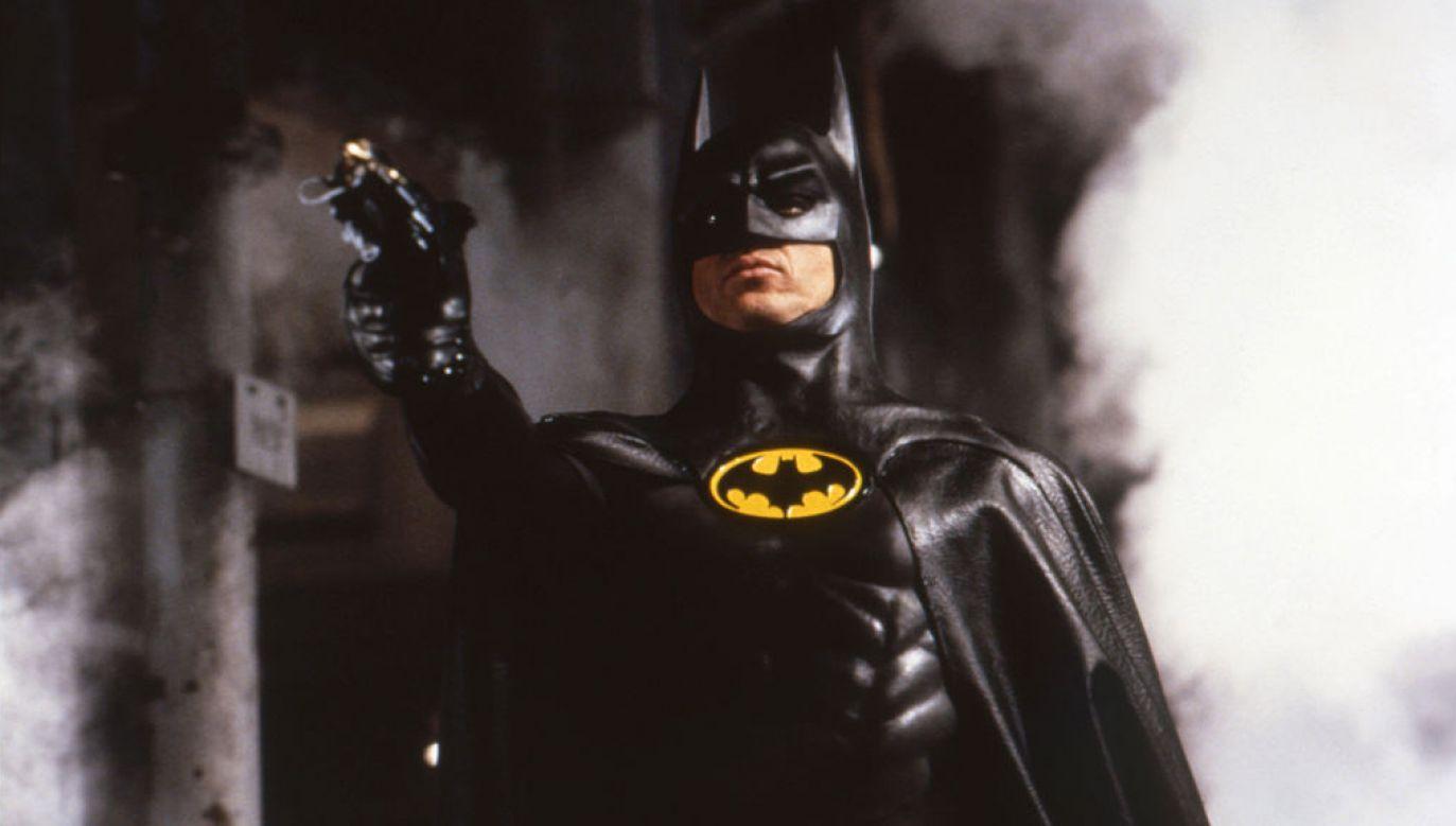 Niezapomnianą kreację Batmana stworzył m.in. Michael Keaton w filmach Tima Burtona z przełomu lat 80. i 90. (fot. Getty Images/Corbis Historical)