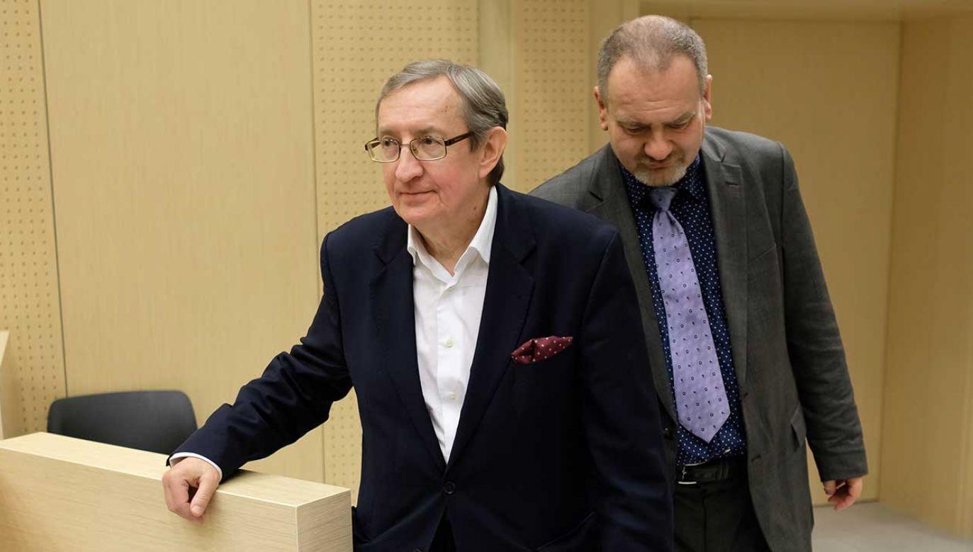 Kolejne wątki afery korupcyjnej z udziałem byłego senatora PO Józefa Piniora i jego asystenta Jarosława Wardęgi (fot. arch. PAP/Jakub Kaczmarczyk)