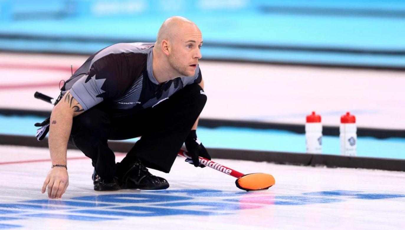 Ryan Fry wywalczył w 2014 roku złoty medal igrzysk olimpijskich w Soczi (fot. TT/The Amed Post)
