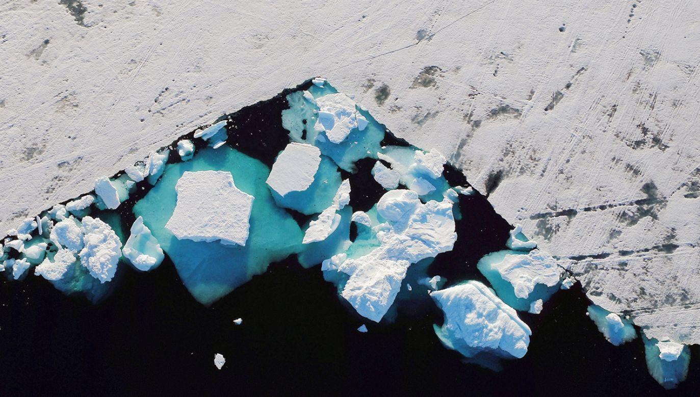 Klimatolodzy prognozując podnoszenie się światowego poziomu mórz powinni mieć na uwadze nie tylko wielkie lodowce Grenlandii, ale też jej pola lodowe i śnieżne (fot. REUTERS/Lucas Jackson)