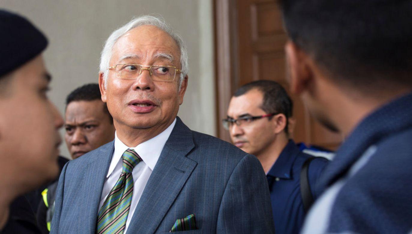 Najib Razak twierdzi, że jest niewinny (fot. Ore Huiying/Getty Images)
