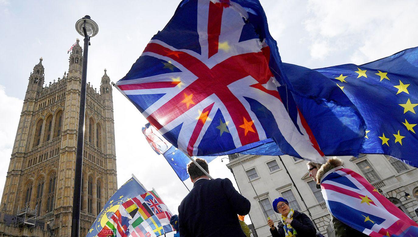 UE27 proponuje przedłużenie okresu wyjścia Wielkiej Brytanii do 12 kwietnia (fot. REUTERS/Toby Melville)