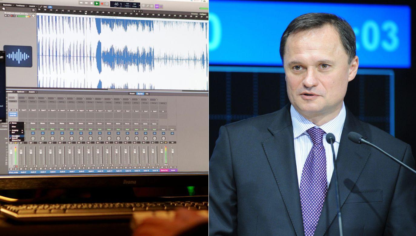 Padają kolejne pytania ws. nagrań rozmowy Czarneckiego z szefem KNF (fot. REUTERS/Heinz-Peter Bader/PAP/Andrzej Hrechorowicz)