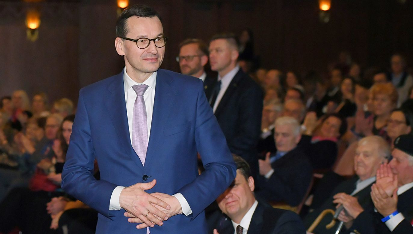 Premier podkreślił, że w Polsce panują bardzo dobre warunki prowadzenia działalności biznesowej (fot. PAP/Radek Pietruszka)