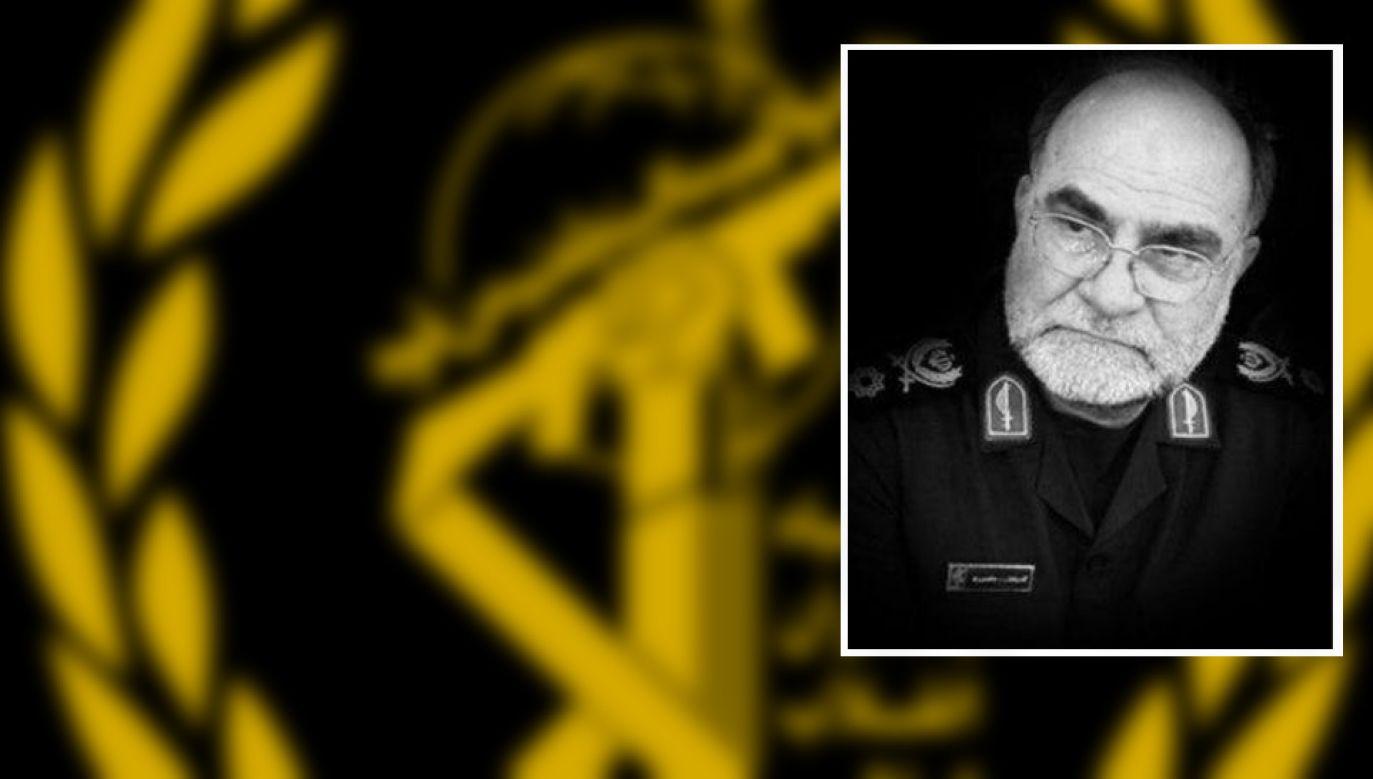 Qodratollah Mansouri był weteranem wojny iracko-irańskiej (fot. TT/AVA_Today)