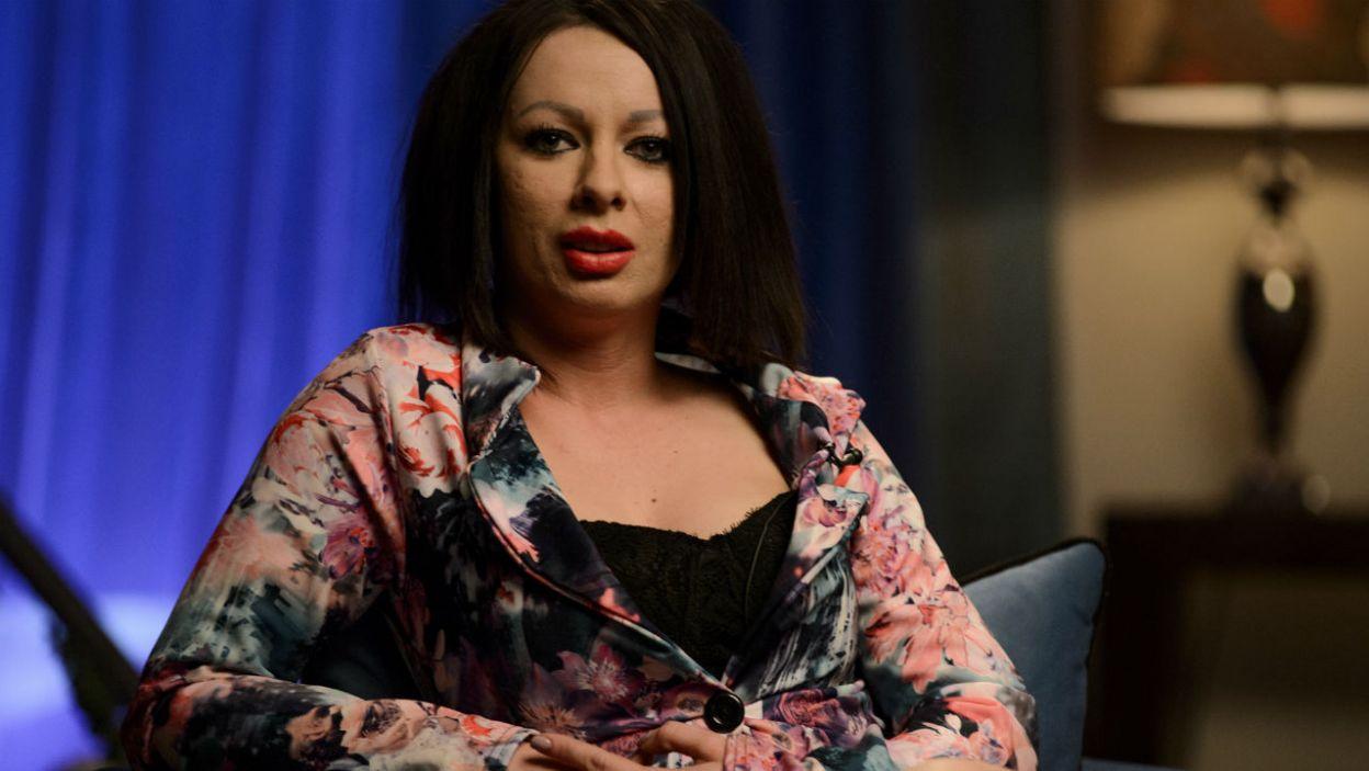 Jessica stała się najbarwniejszą osobą w programie (fot. TVP)
