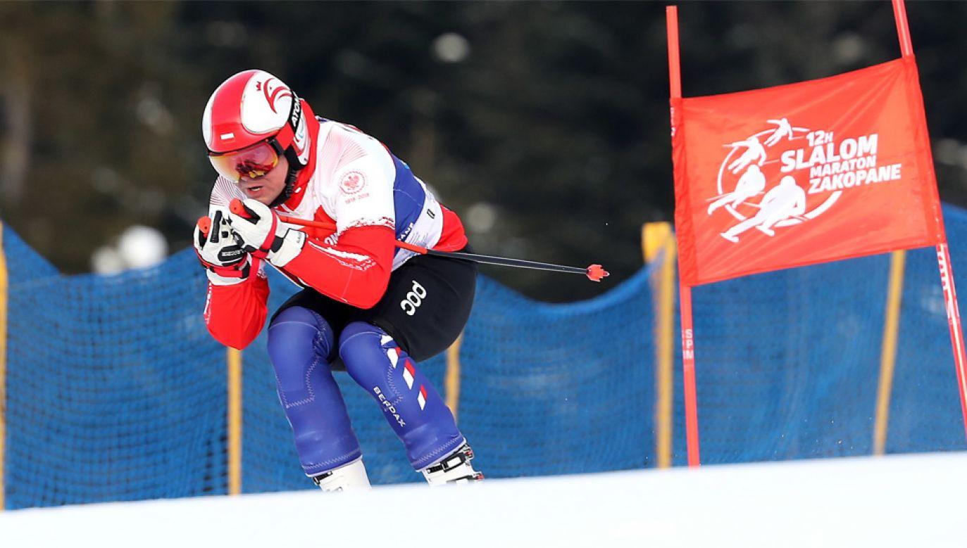 Andrzej Duda wziął udział w maratonie charytatywnym (fot. TVP Info/IG/Prezydent_pl)