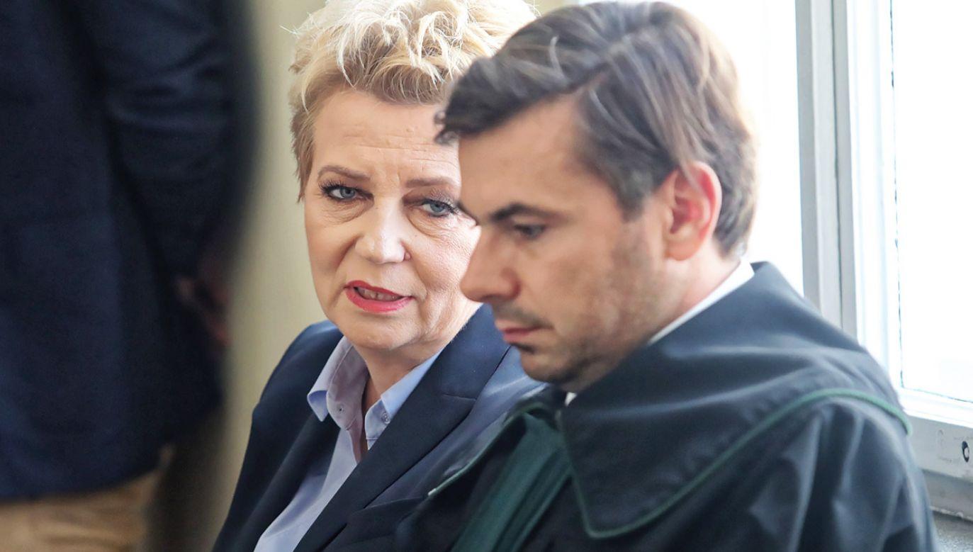 Mec. Bartosz Tiutiunik wnosił o złożenie zapytania do TSUE i odroczenie rozprawy (fot. PAP/Roman Zawistowski)