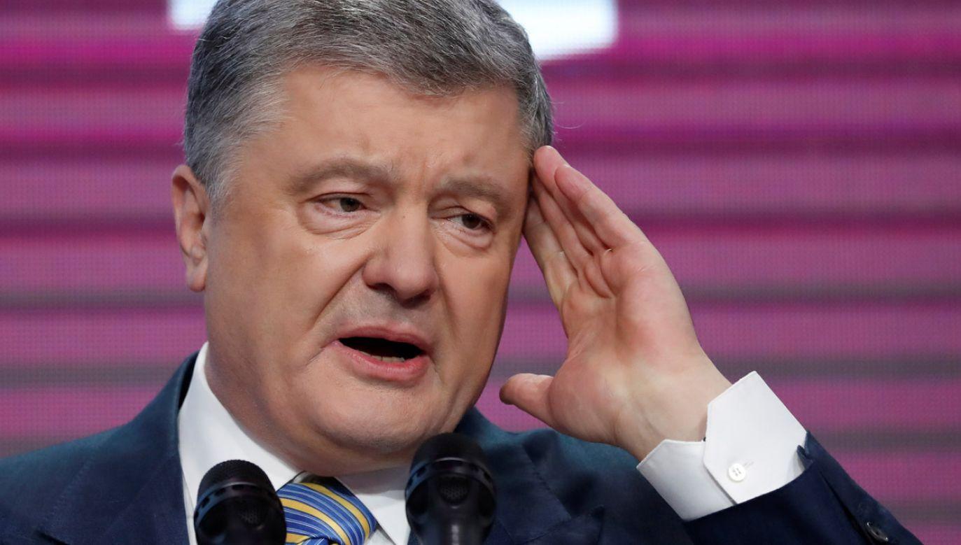 Petro Poroszenko przegrał w niedzielę w II turze wyborów prezydenckich (fot. REUTERS/Vasily Fedosenko)