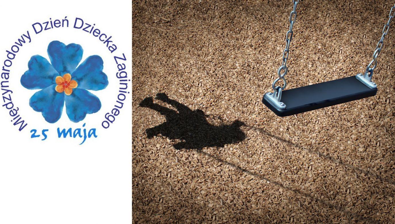 Symbolem pamięci o zaginionych dzieciach jest kwiat niezapominajki (fot. Shutterstock/Lightspring/tt/Polska Policja)