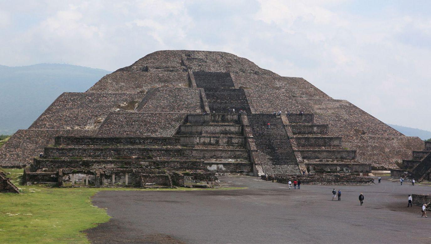 Piramida Księżyca ma wymiary 150×120×43 m, nie wiadomo jednak kto ją wybudował (fot. GUSTAVO VON)