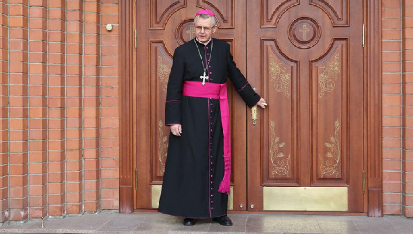 Abp Tomasz Peta pełni posługę w Kazachstanie od 27 lat (fot. arch.PAP/Rafał Guz)