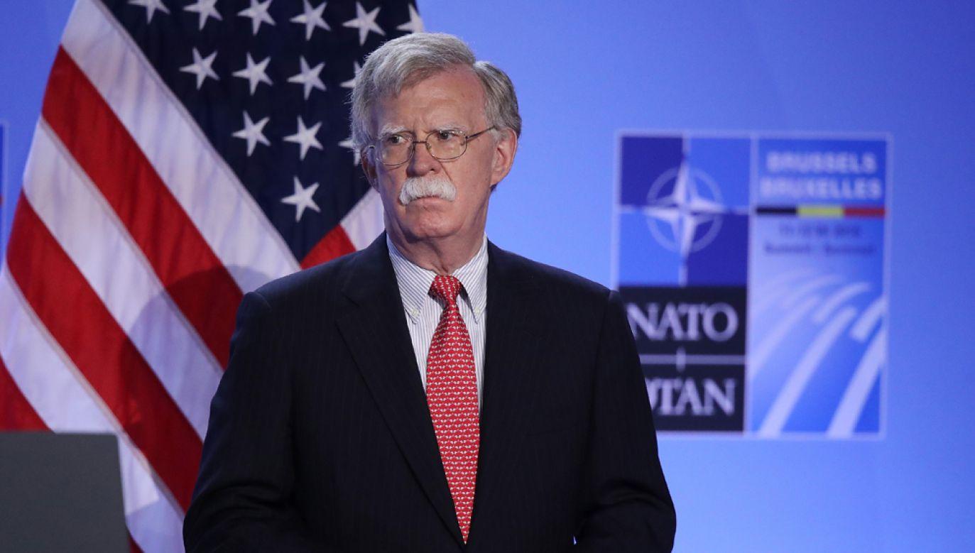 Doradca prezydenta USA do spraw bezpieczeństwa narodowego John Bolton (fot. Sean Gallup/Getty Images)
