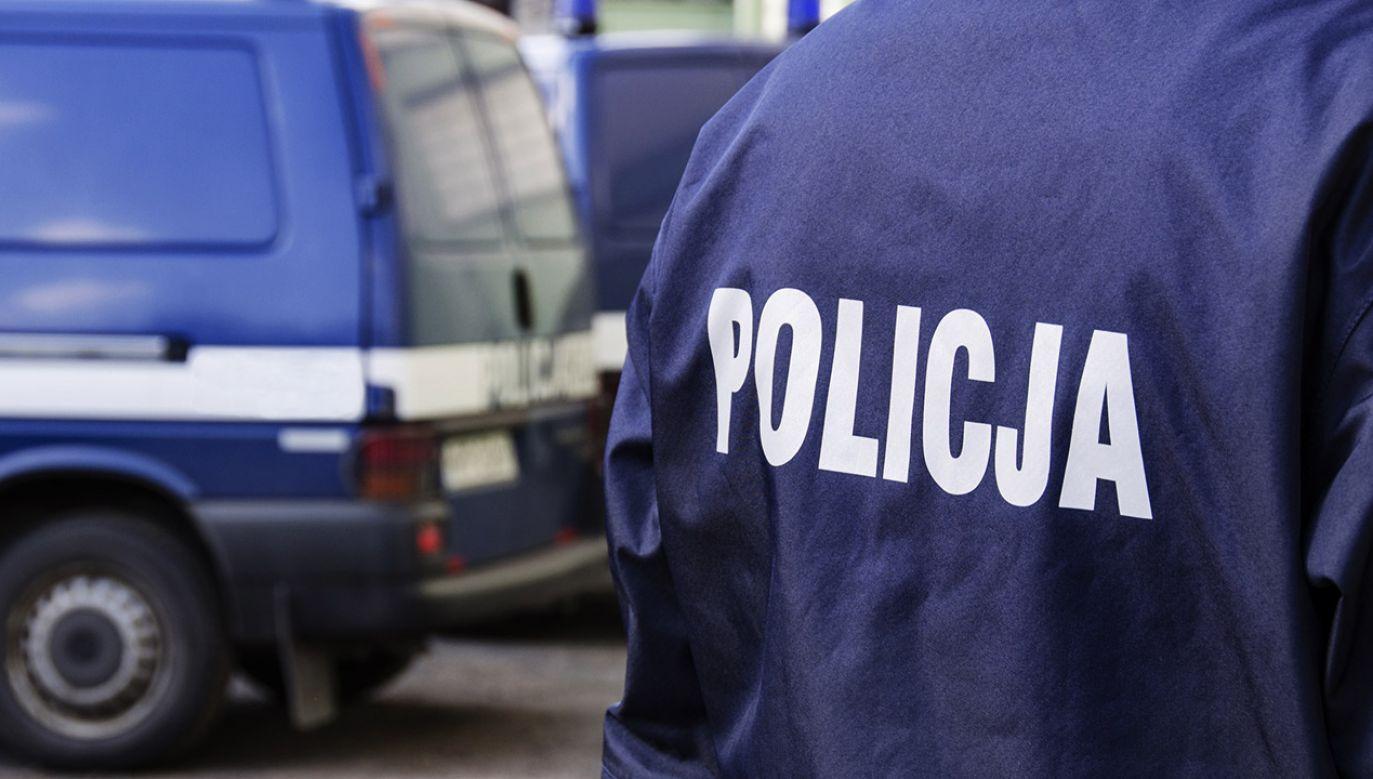 Sprawcę zatrzymano (fot. policja.pl)