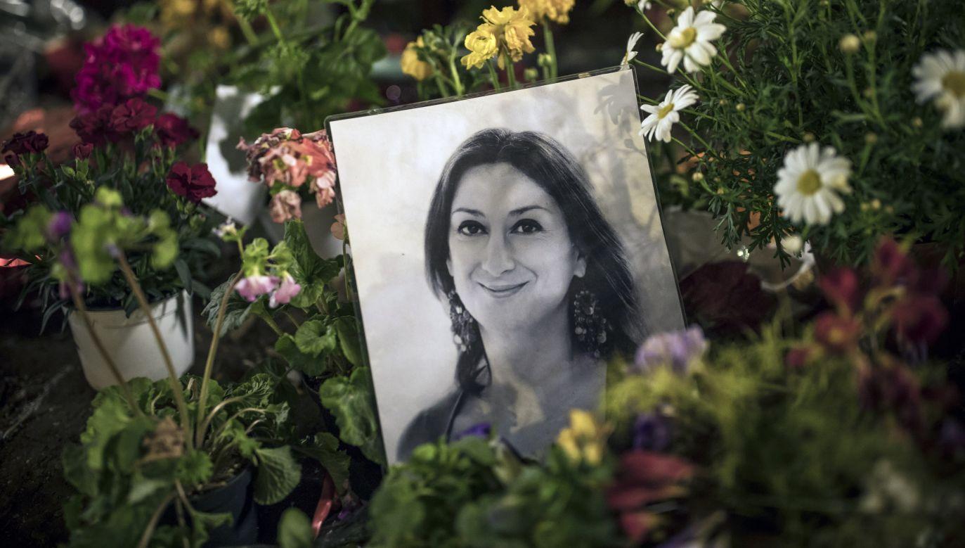 Zabójstwo Caruany Galizii poruszyło światową opinię publiczną (fot. Dan Kitwood/Getty Images for the Daphne Project )