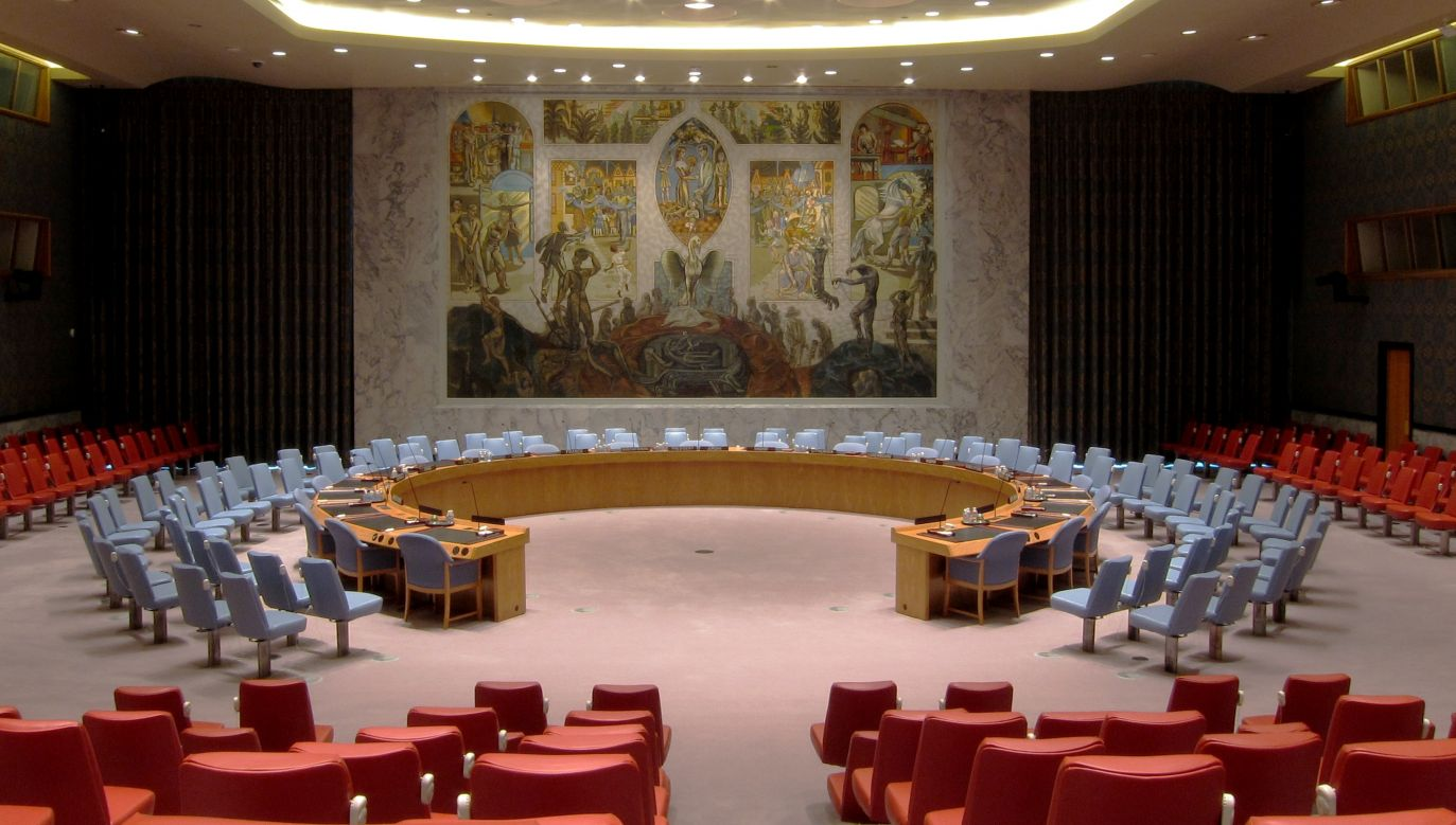 United Nations Security Council in the United Nations Headquarters, New York City. Photo: Wikimedia/Neptuul