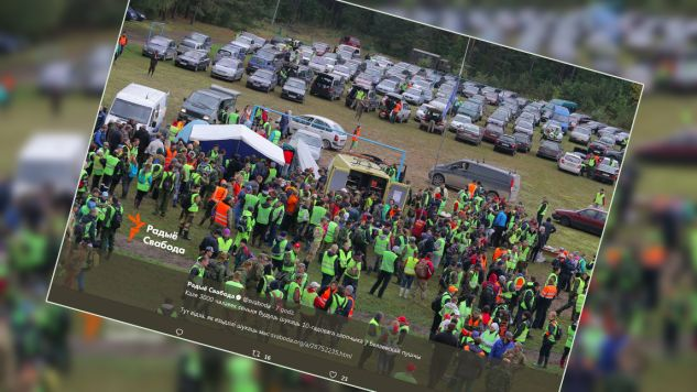 Tysiące ludzi poszukują zaginionego 10-latka (fot. Twitter/Radio Swaboda)
