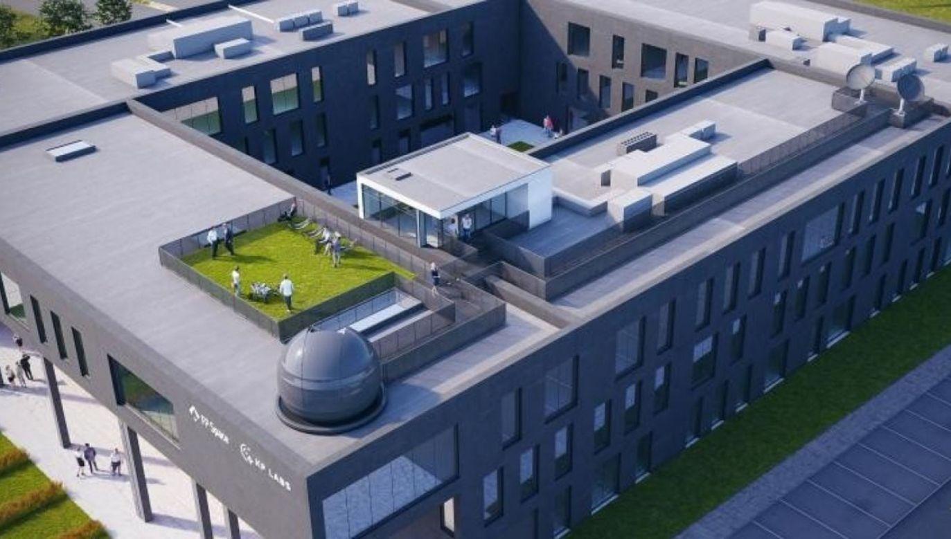 Obserwatorium astronomiczne ma powstać do końca I kw. 2021 (fot. Wizualizacja: MFA STUDIO Sp. z o.o.)